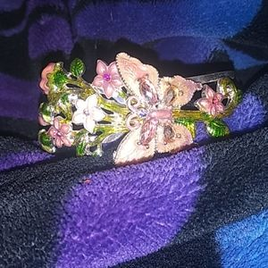Flower Butterfly bracelet